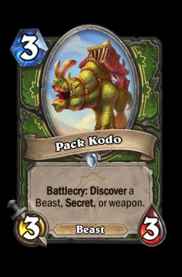 Pack Kodo