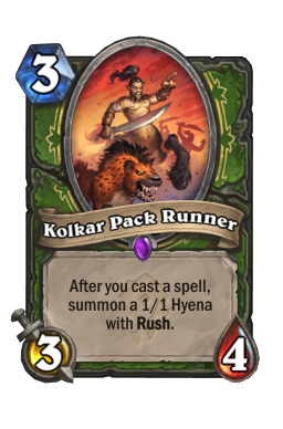 Kolkar Pack Runner