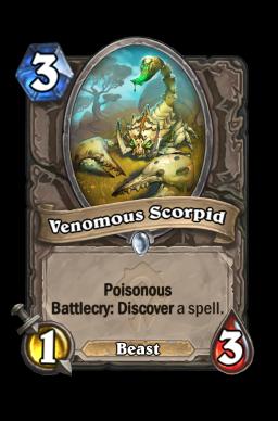 Venomous Scorpid