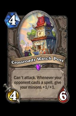 Crossroads Watch Post