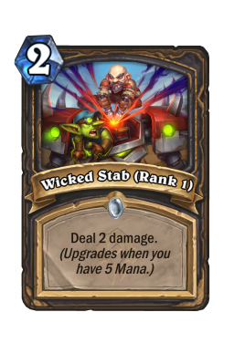 Wicked Stab (Rank 1)