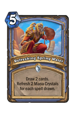 Refreshing Spring Water