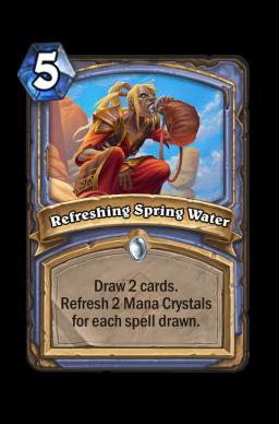Refreshing Spring Water
