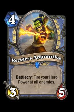 Reckless Apprentice