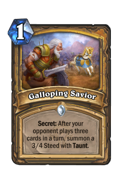 Galloping Savior