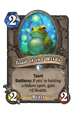 Toad of the Wilds