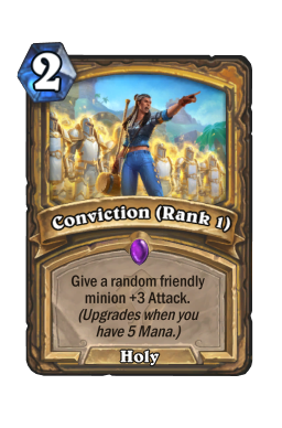 Conviction (Rank 1)