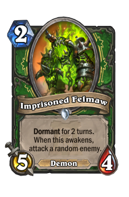 Imprisoned Felmaw