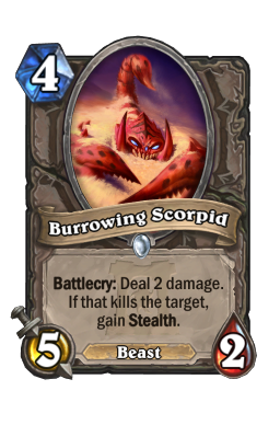 Burrowing Scorpid