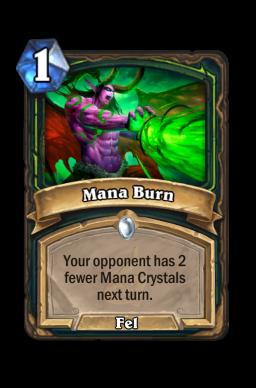 Mana Burn
