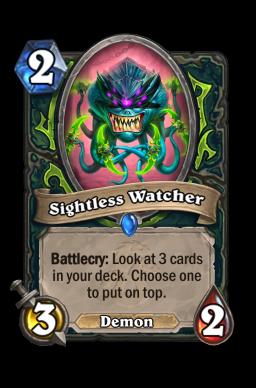 Sightless Watcher