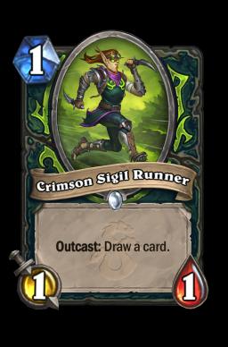 Crimson Sigil Runner