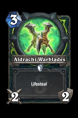 Aldrachi Warblades