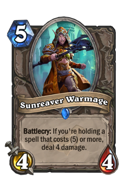Sunreaver Warmage