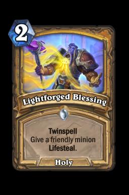 Lightforged Blessing