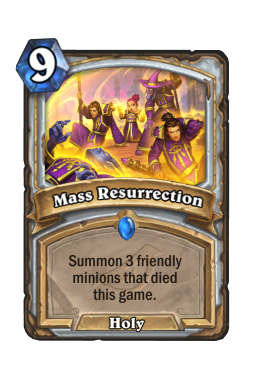 Mass Resurrection