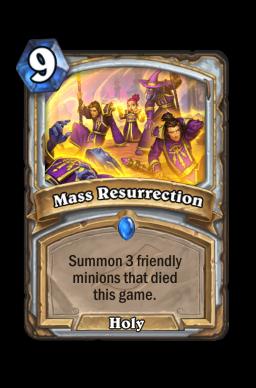 Mass Resurrection