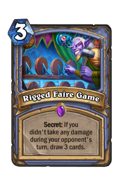 Rigged Faire Game