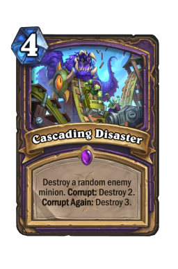 Cascading Disaster