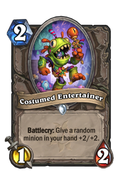 Costumed Entertainer