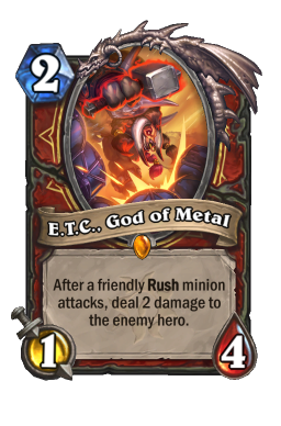 E.T.C., God of Metal