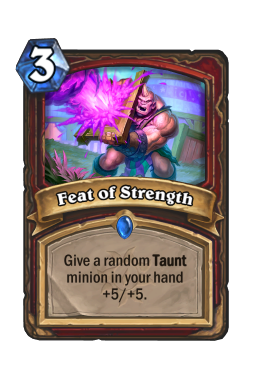 Feat of Strength