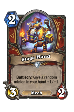 Stage Hand