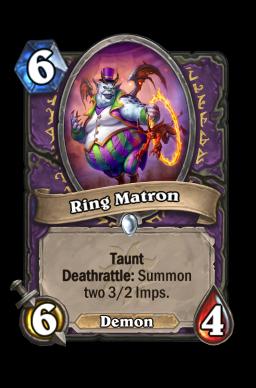 Ring Matron