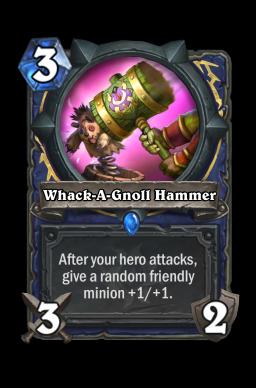 Whack-A-Gnoll Hammer