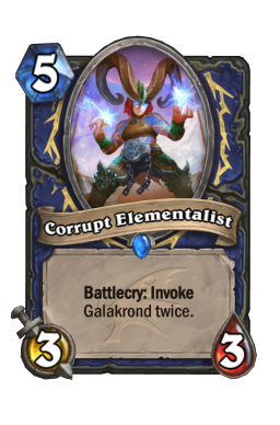 Corrupt Elementalist