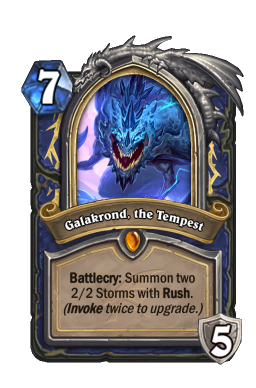 Galakrond, the Tempest