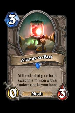 Alarm O'Bot