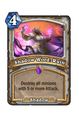 Shadow Word: Ruin
