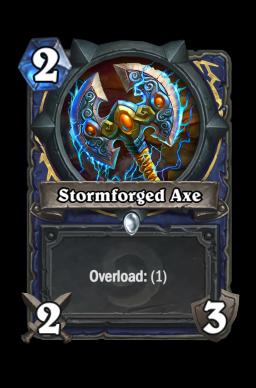 Stormforged Axe