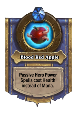 Blood Red Apple