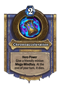 Chronoacceleration