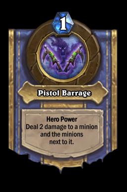 Pistol Barrage