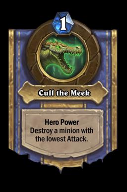Cull the Meek