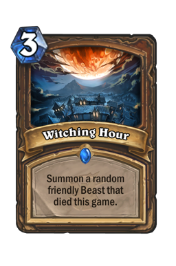 Top Ten Cards From The Witchwood We Are Looking Forward To