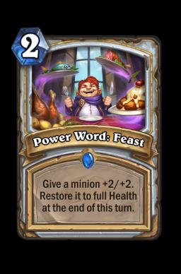 Power Word: Feast