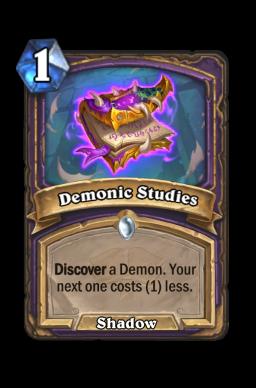 Demonic Studies