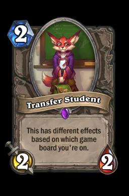 Transfer Student