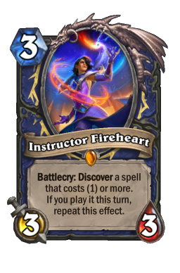 Instructor Fireheart