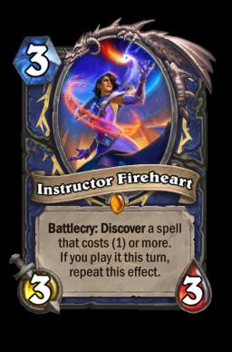 Instructor Fireheart