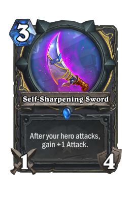 Self-Sharpening Sword