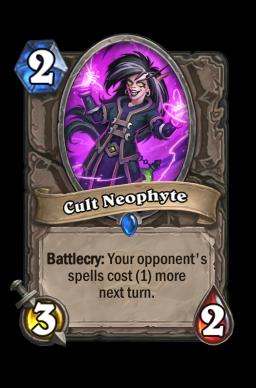 Cult Neophyte