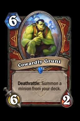 Cowardly Grunt
