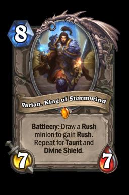 Varian, King of Stormwind