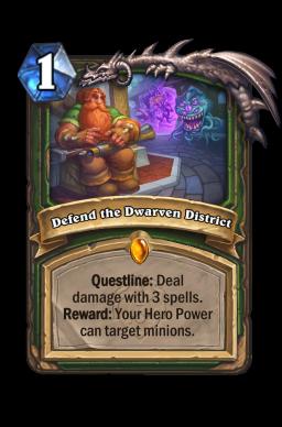 Defend the Dwarven District
