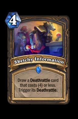 Sketchy Information